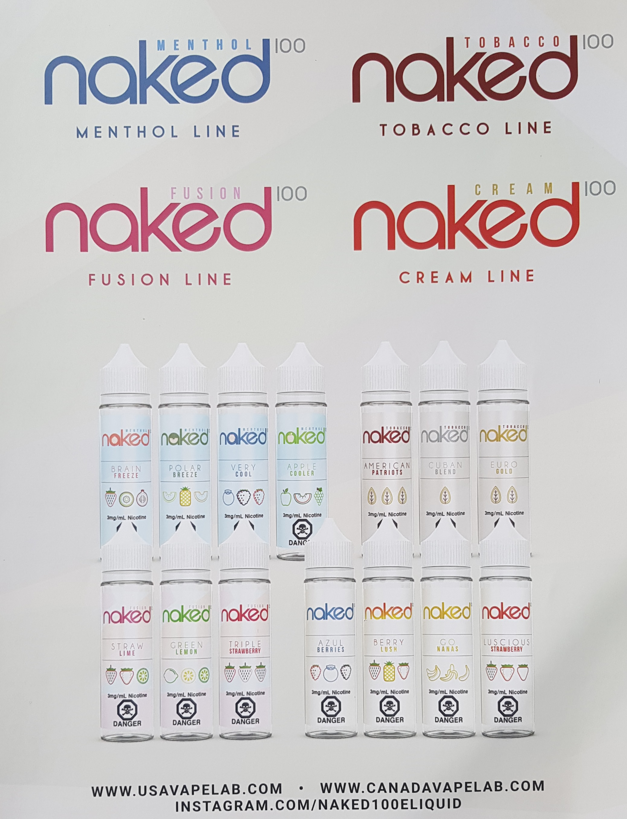 Naked100 lines Capital Vape & Cigar Edmonton Ab